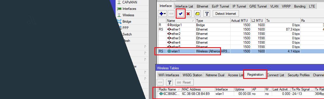Konfiguracja bazy radiowej + konfiguracja klienta